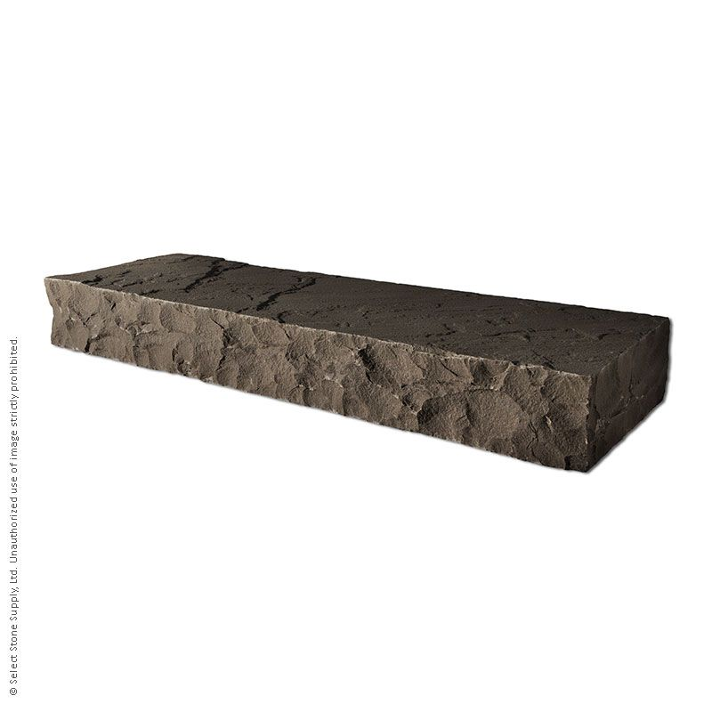 An Imported Brown natural stone step