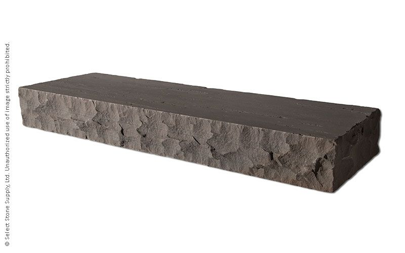 An Imported Grey natural stone step